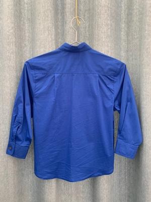 WOVEN SHIRT 14 BLUE