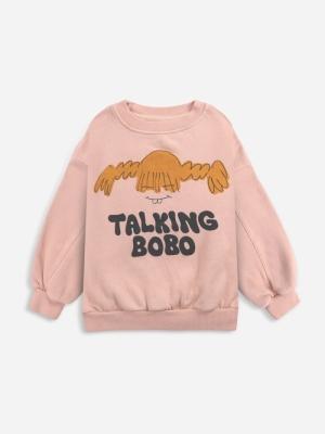 GIRL TALK SWEATSHIRT logo